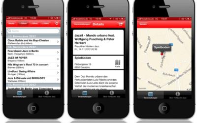 Nutzen Sie unsere Treffpunkt Jazz iPhone App?