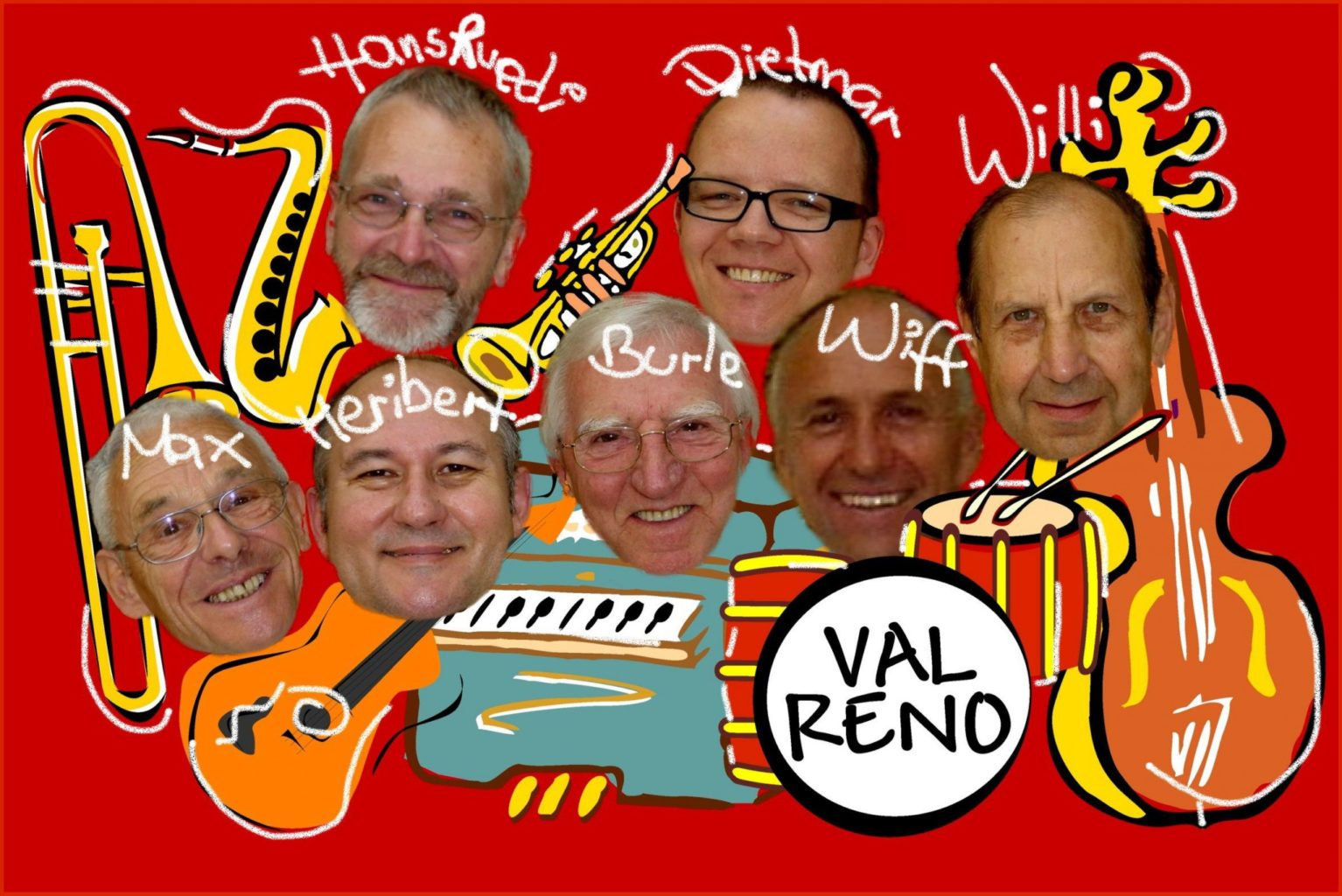 Val Reno Jazzband – Dixieland und Swing im Mai