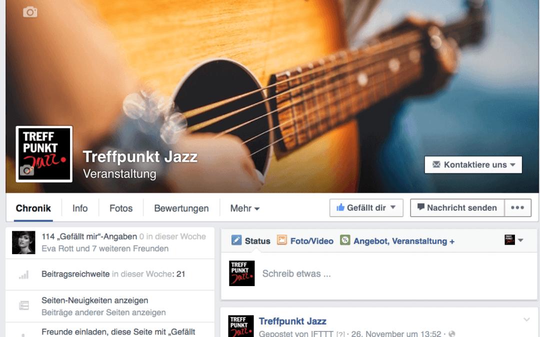Alle Veranstaltungen von Treffpunkt Jazz auf Facebook