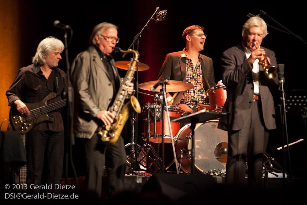 """The German Jazz Masters """"Old friends"""":"""