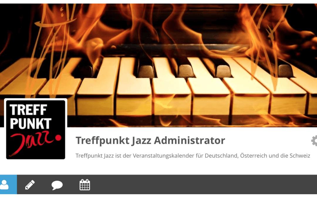 Pflegen Sie Ihr Treffpunkt Jazz Profil für das Mitglieder Verzeichnis