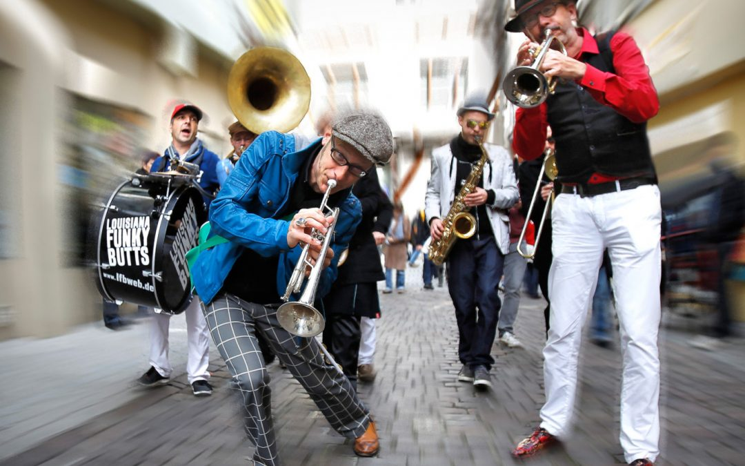Jazz unter Palmen: New Orleans Musicnight auf der Mainau mit den Louisiana Funky Butts