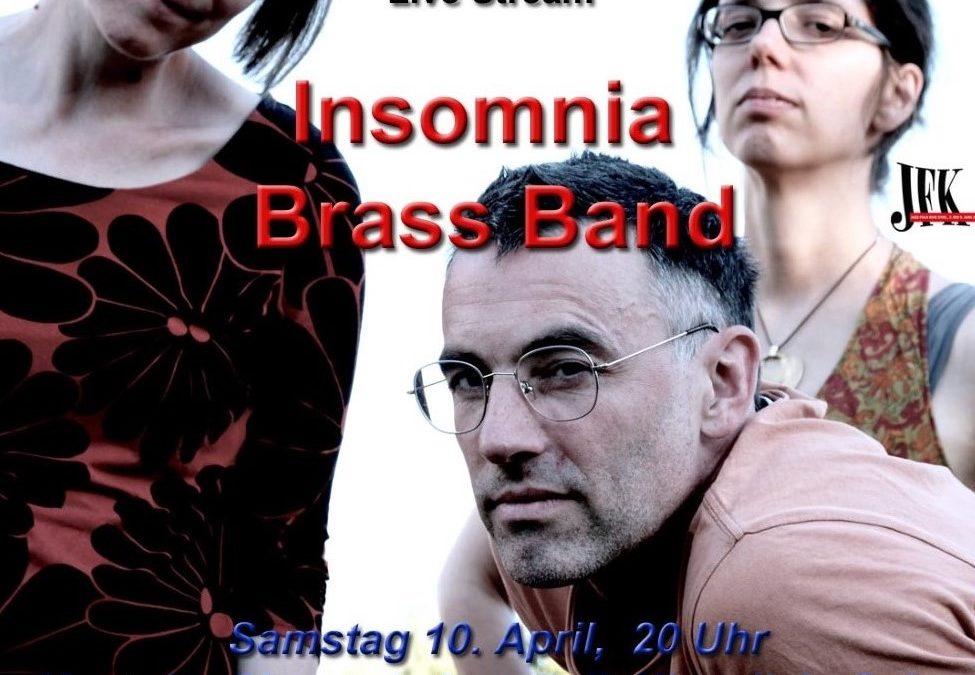 LIVE-STREAM – Insomnia Brass Band