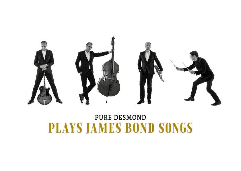 LIVE-STREAM – PURE DESMOND – PLAYS JAMES BOND SONGS